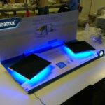 Ultrabook lit up